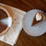 Thanksgiving Pumpkin Pie with Butternut Squash and Spelt Crust