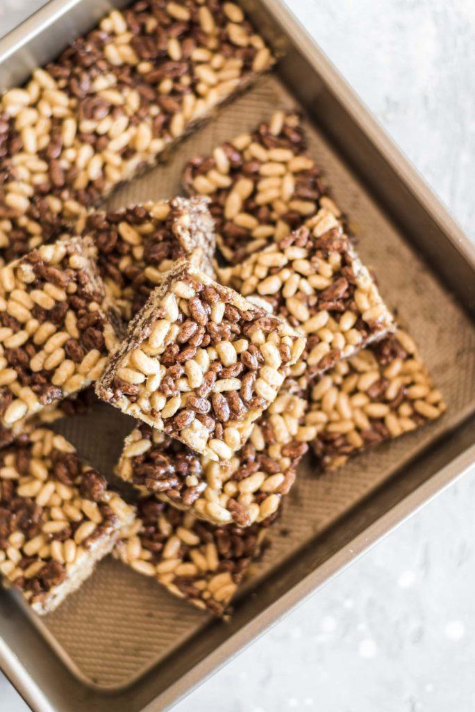 Healthy Rice Crispy Treats One Degree Organics