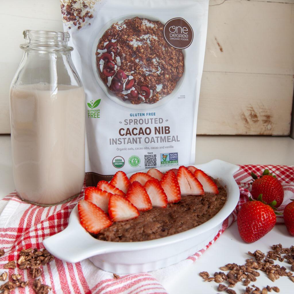 Healthy 5-Minute Instant Oatmeal Mug Cake Recipe | Gluten-free and Vegan